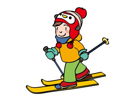 Walking ski 01