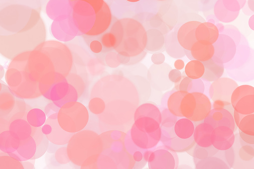 Pink light red circle blurred gradation background