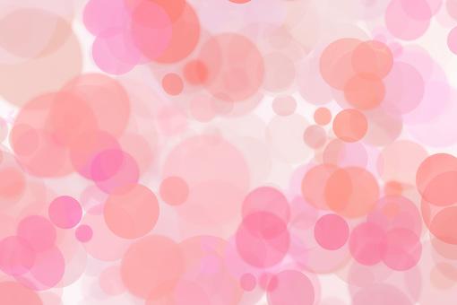 粉紅色的光的紅色圓圈模糊漸變背景
