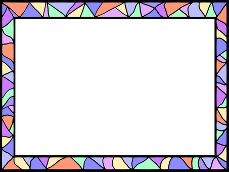 Stained glass windshield ②