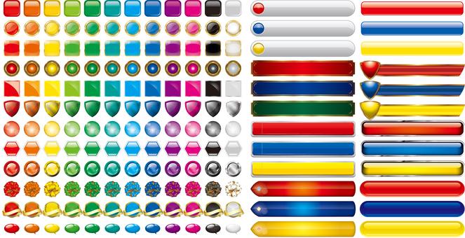 Pachinko type glossy icon A version