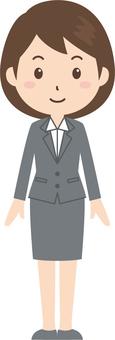 Women | OL | Suit | Standing