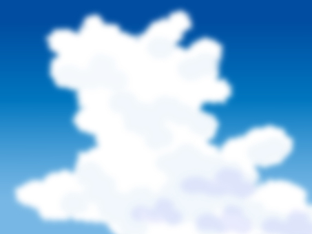 Blue Sky and Ice Cloud