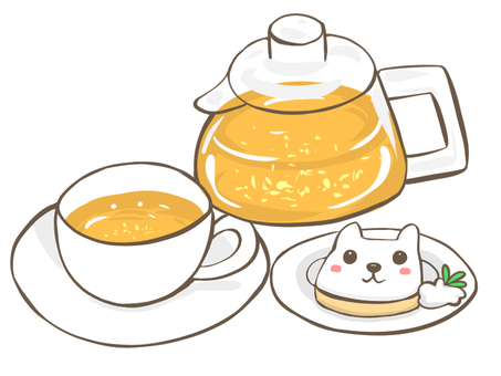 Dog Cookies and Tea Time Set