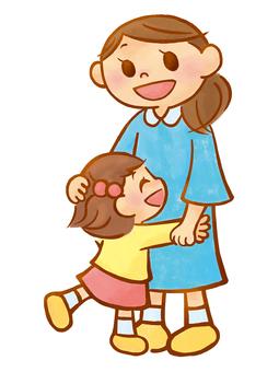 A_ mother _ parent-child