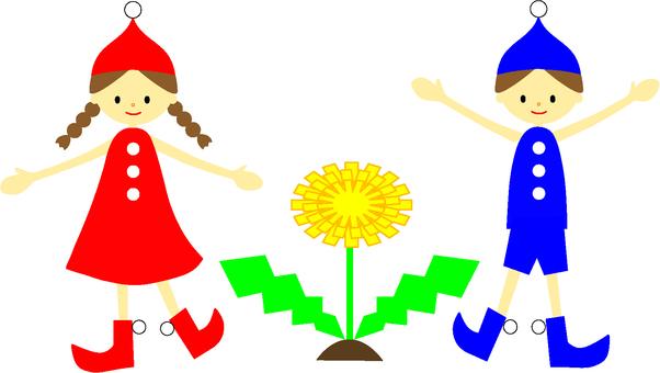 Dandelion and positive dwarf