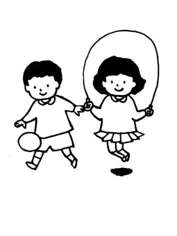 Play outside kindergarten