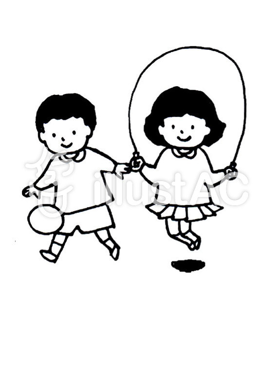 幼稚園 外遊びイラスト No 412383無料イラストならイラストac