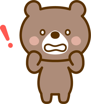 Surprising bear