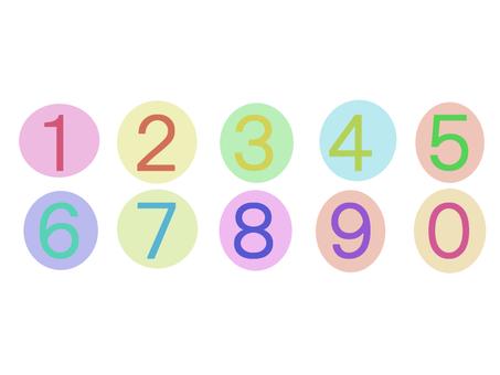 Polka dot number