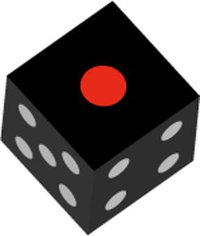 Black dice 1