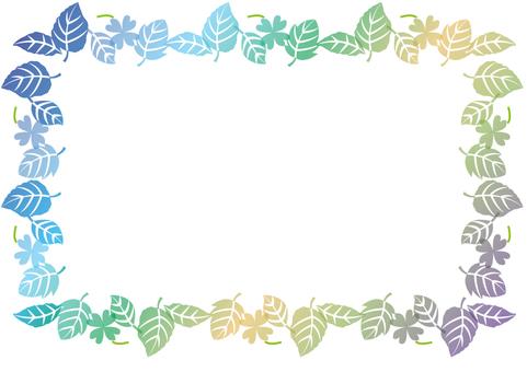 Spring frame fresh green 8