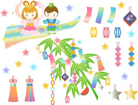 Tanabata Material July