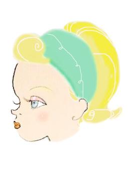 Headband girl