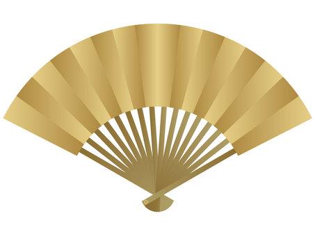 Folding fan 10