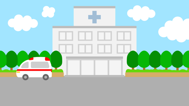 Simple background hospital wide 16: 9