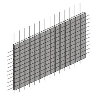 擋板圍欄(帶鋼筋)