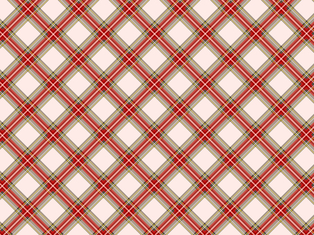 Pink and red check pattern