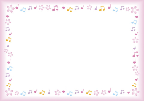 Musical note frame color