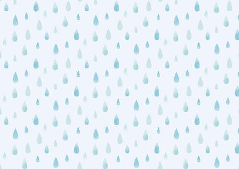 Watercolor pattern 01 of raindrops