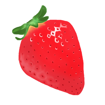 Real strawberries