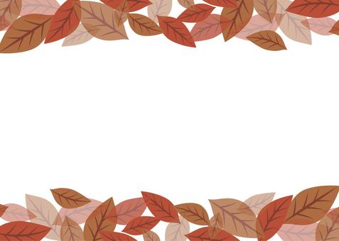 Simple leaf frame 02