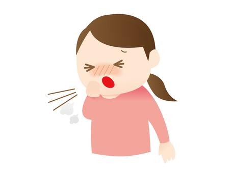 Women who cough