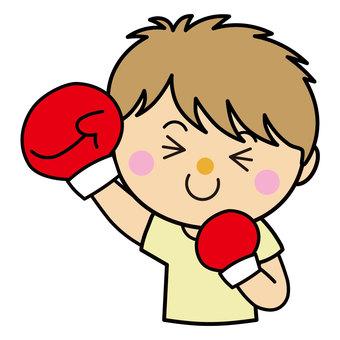 Boy 23_07 (boxing punch)