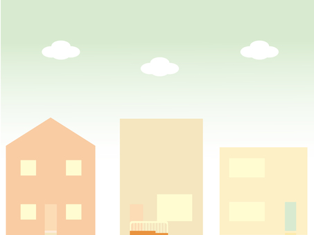 Simple house background