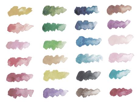 Watercolor stroke-4