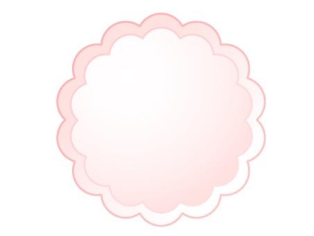 분홍색 털이 프레임