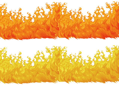 Flame vector set 2