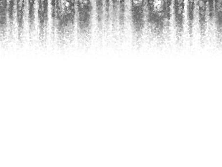 Curtain 3 (bubble, monochrome)