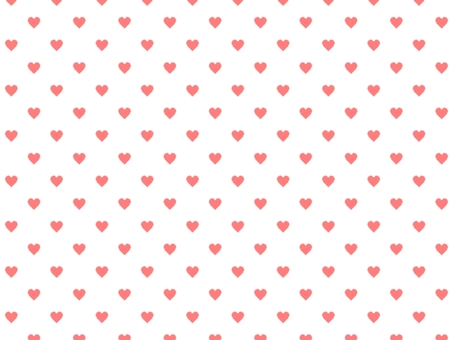 Heart pattern background 006 Red