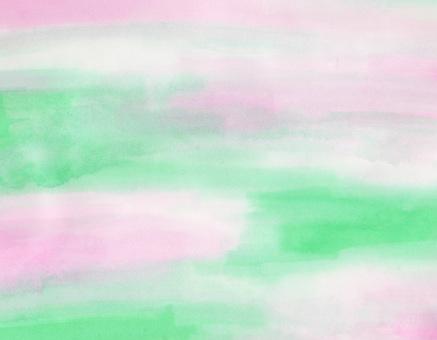 봄 같은 번짐 그림