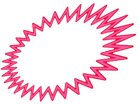標註粉紅色的框架