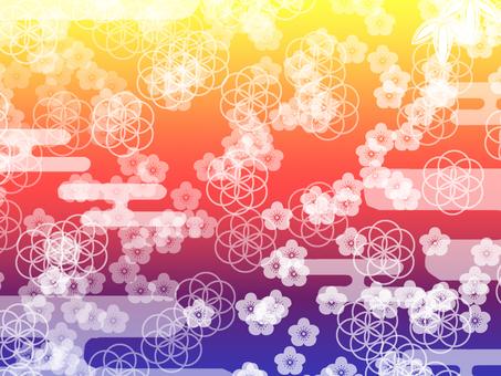 Japanese style wallpaper
