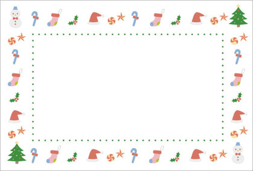 Christmas frame 2