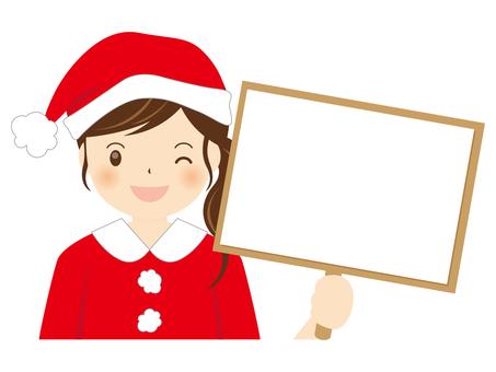 Girls Santa A-002