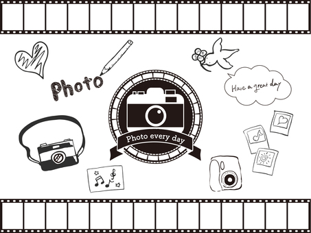 Photo material