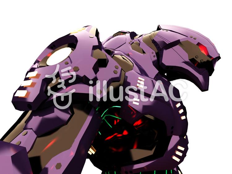 戦闘ロボットのイラスト