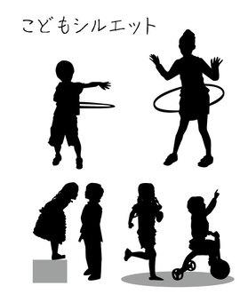 Child silhouette 2