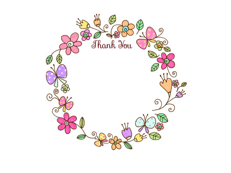 ThankYou flower wreath