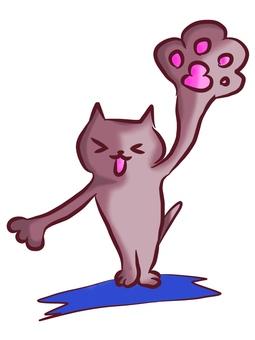 猫の手!貸します。(赤色系)