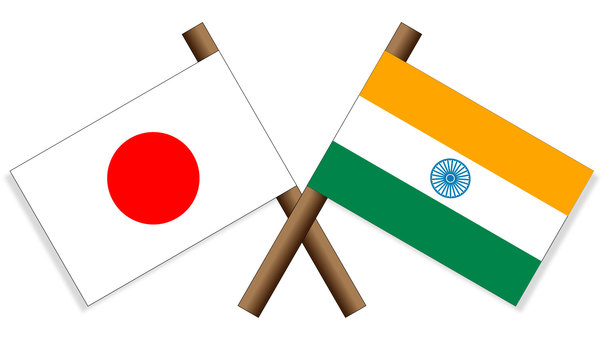 Flag Japan × India