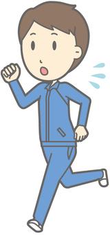 Men's High Jacket - Running - Full Length