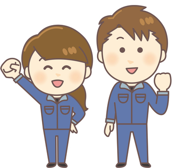 Work clothes Gender (whole body · blue)