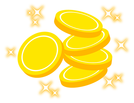 Shining coins (3