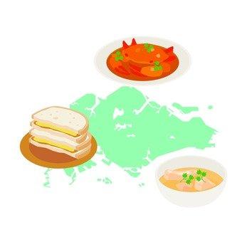 Singapore gourmet