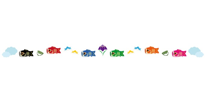 鯉のぼりフレーム